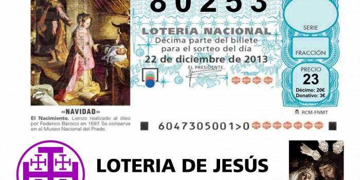 Loteria de Jesús – Navidad