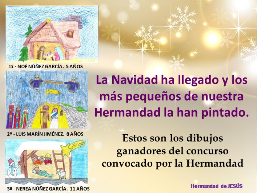 DIBUJOS GANADORES CRISMA NAVIDAD 2013
