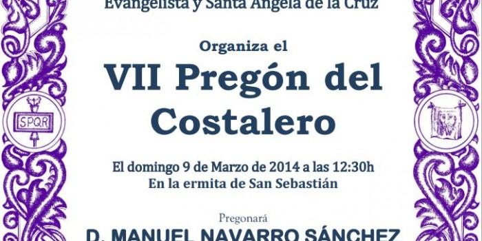 VII PREGÓN DEL COSTALERO
