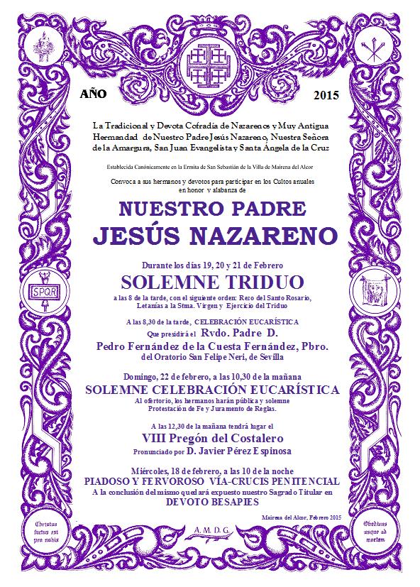 Cultos JN 2015