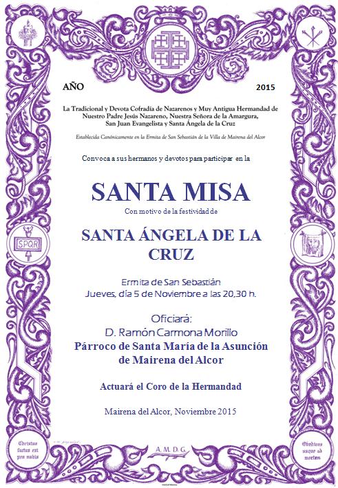 cartel santa angela