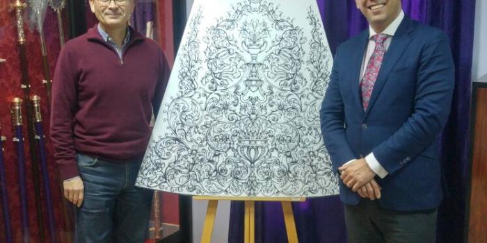 Nueva saya de salida procesional para Nuestra Señora de la Amargura