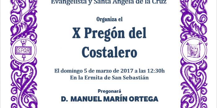 X PREGÓN DEL COSTALERO