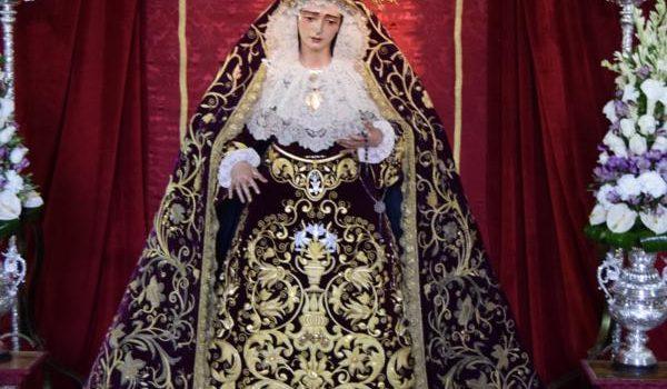 Besamanos de Nuestra Señora de la Amargura. 15/10/2017