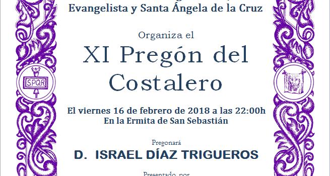 XI PREGÓN DEL COSTALERO