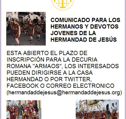 DECURIA ROMANA DE LA HERMANDAD