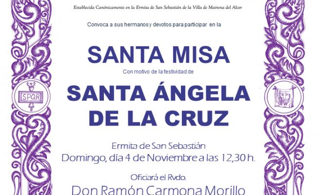 FESTIVIDAD DE SANTA ÁNGELA