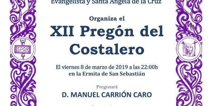 XII Pregón del Costalero