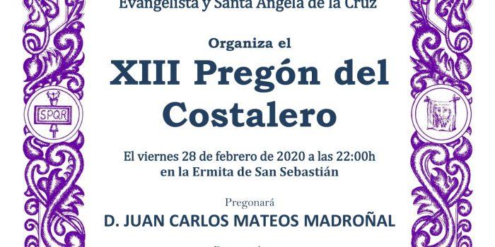 XIII Pregón del Costalero